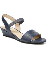 LifeStride Yuma Wedge Sandal - Blue