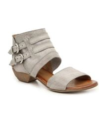 03280d16876 Lyst - K. Jacques Cyrus Broad Thong Sandals in Brown