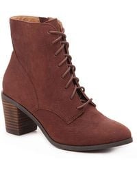 Lucky Brand Persee Bootie - Brown