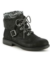 White Mountain Footwear Daley Bootie - Black