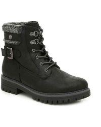 White Mountain Footwear - Meldon Combat Boot - Lyst