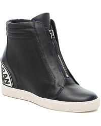 DKNY Connie Wedge High-top Sneaker - Blue