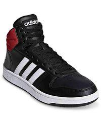 Vs Hoops 2.0 High Top Sneakers Black