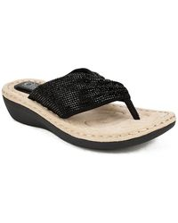 White Mountain Footwear Calvert Sandal - Black