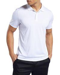 Reebok Workout Ready Polo Shirt - White