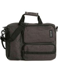 Kenneth Cole Reaction Roofless Convertible Messenger Bag - Black