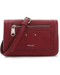 Claire Leather Crossbody Bag