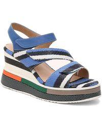 Spring Step Omokokoa Wedge Sandal - Blue
