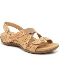 Vaneli Vicki Wedge Sandal - Brown
