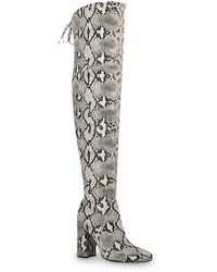 Unisa Jaydi Over The Knee Boot - Black