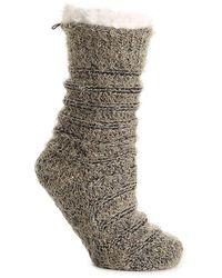 BEARPAW Marled Slipper Socks - Multicolor