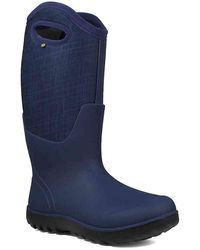 Bogs Neo-classic Tall Snow Boot - Blue