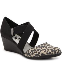 Anne Klein Sport Trista Wedge Pump - Black
