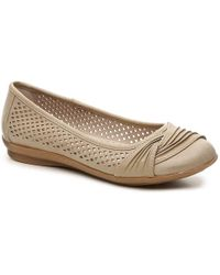 White Mountain Footwear - Harlyn Ballet Flat - Lyst