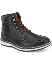 967e53842e7 Lyst - Calvin Klein 205W39Nyc Larry Chelsea Boot in Black for Men
