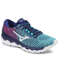 Mizuno Wave Sky Waveknit 3 Running Shoe - Blue