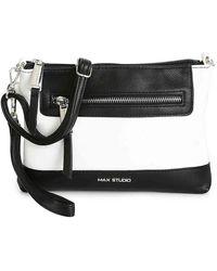 Max Studio Elyza Crossbody Bag - Black