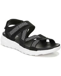 Ryka Isora Wedge Sandal - Black