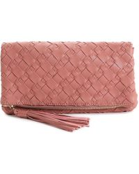 Urban Expressions Isolde Clutch - Purple