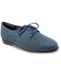Trotters Lizzie Oxford - Blue