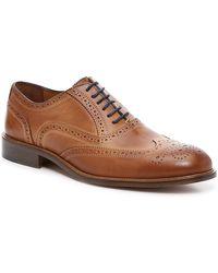 Mercanti Fiorentini Casual Wingtip Oxford - Brown