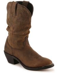 Durango Slouch Cowboy Boot - Brown