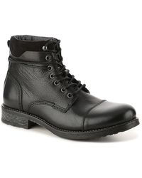ALDO Niman Cap Toe Boot - Black