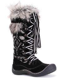Muk Luks Gwen Snow Boot - Black