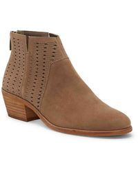 Vince Camuto Patellen Booties - Brown