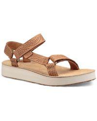 Teva | Midform Universal Geometric Wedge Sandal | Lyst