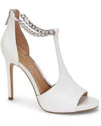 Jessica Simpson Rexa Dress Sandals - White
