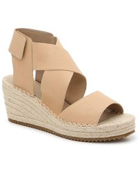 Eileen Fisher Willow 3 Espadrille Wedge Sandal - Natural