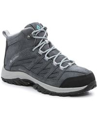 Columbia Crestwood Waterproof Hiking Boot - Gray