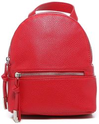 Steve Madden Bjacksn Mini Backpack - Red