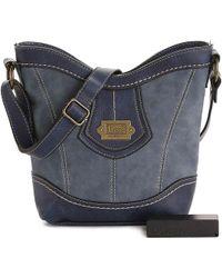 b.ø.c. Branford Crossbody Bag - Blue