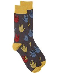 Sock It To Me - Salutations Crew Socks - Lyst