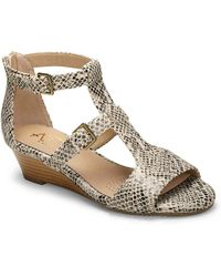 A2 By Aerosoles Applause Wedge Sandal - Multicolor
