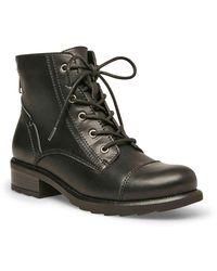 Madden Girl Daria Combat Boot - Black