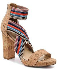 Jessica Simpson Pivero Platform Sandal - Brown