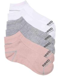 Reebok - Low Lurex No Show Socks - Lyst