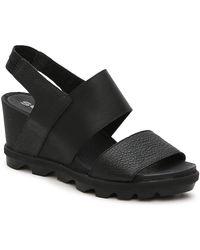 Sorel Joanie Wedge Sandal - Black