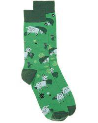 Sock It To Me - Fresh Off The Goat Crew Socks - Lyst