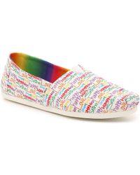 TOMS Alpargata Unity Slip-on - Multicolor