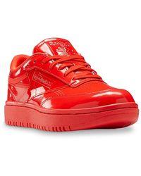 Reebok - Cardi Coated Club C Double Sneaker - Lyst