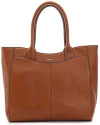 Perlina - Amelia Leather Tote Bag - Lyst
