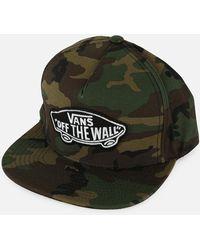 865b8ae5 Vans Salton Ii Adjustable Hat in Natural for Men - Lyst