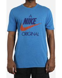 Nike - Original Hybrid Tee - Lyst