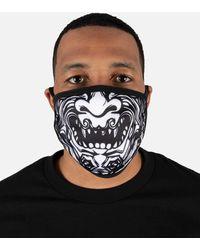 Hudson Jeans Tiki God Face Mask - Black