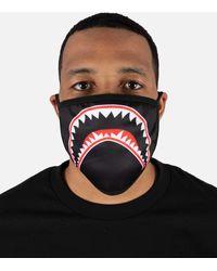 Hudson Jeans Shark Mouth Face Mask - Black