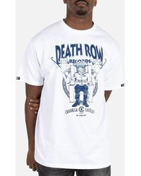 Crooks and Castles Death Row Records Core Tee - White
